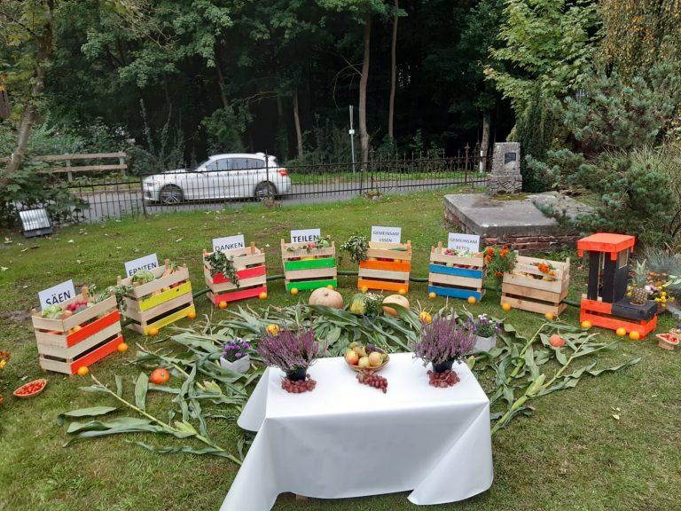 Erntedankfest mit Abendmahl am Sonntag, 27. September